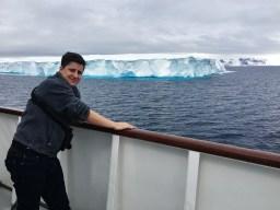 Tabular iceberg in the Antarctic Sound