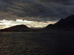 Ushuaia, from the Beagle Channel