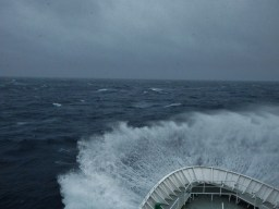 The Drake Passage, during our return