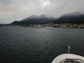 Approaching Ushuaia