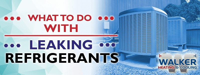 What to Do with Leaking Refrigerants