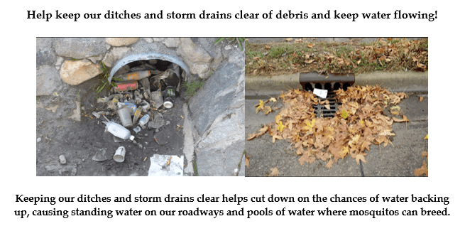 Clogged drains