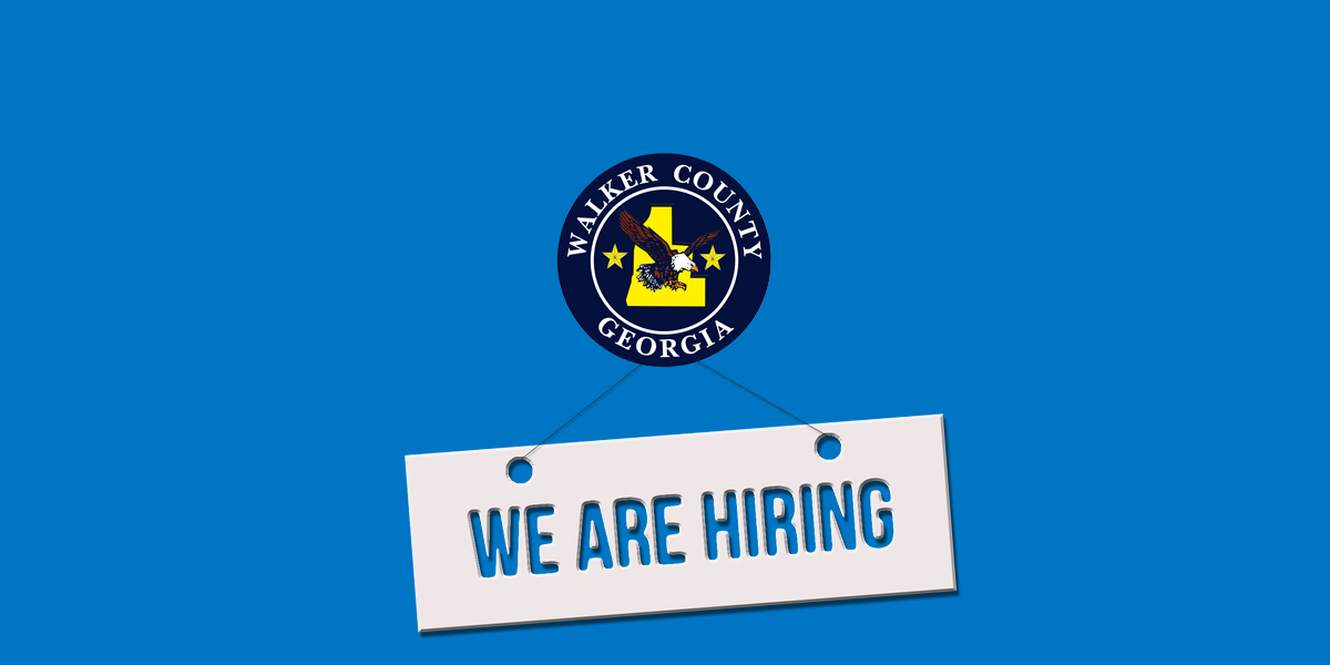 Employment Opportunities - Walker County, GA - Official