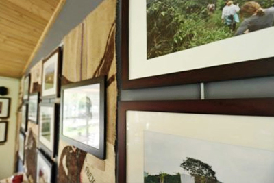 Picture Hanging System Cedar Coffee 2