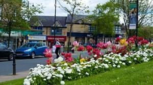 town center shot