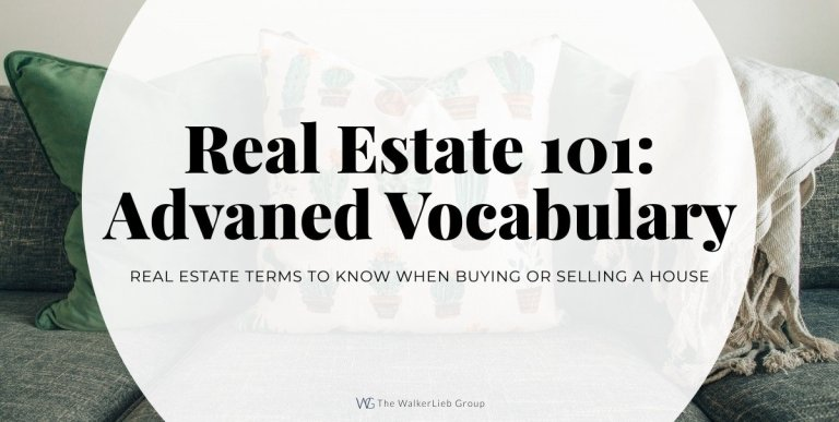 Real Estate 101: Vocabulary You Need to Know – Advanced