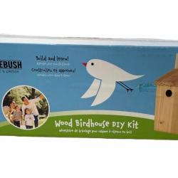 Pinebush Wood Birdhouse DIY Kit