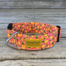 Goober Dog Collar – Pink Pineapple