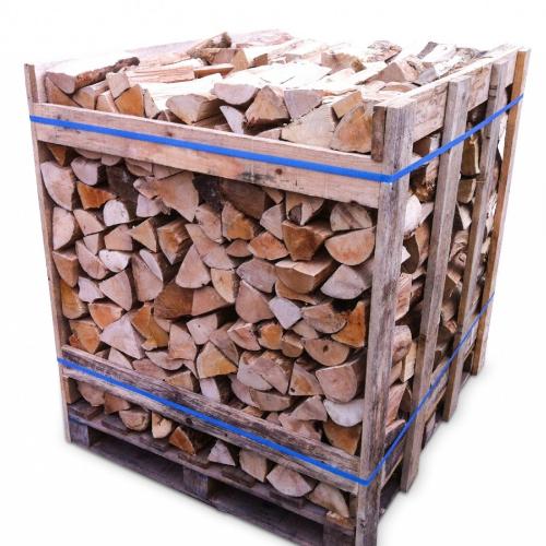 crate kiln dried firewood logs