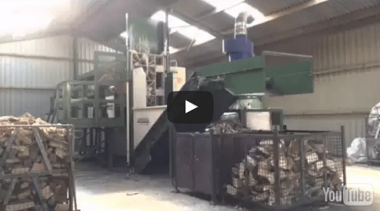 Kiln dried firewood production