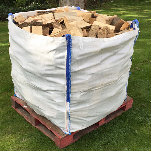 Bulk bag kiln dried firewood logs very dry
