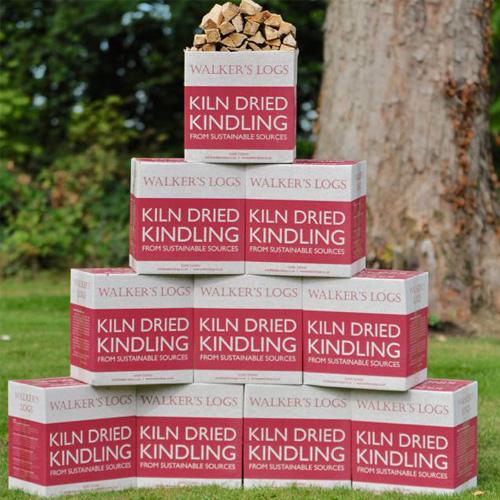 Kiln dried logs kindling 10 box