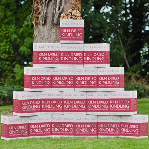 Kiln dried logs kindling 20 box