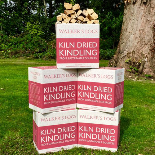 Kiln dried logs kindling 5 box