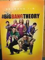 The Big Bang Theory Seasons 1 to 5 DVD