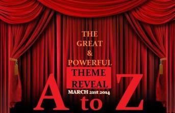 A to Z Theme Reveal on Walkersvillemomblog