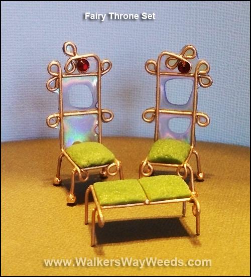 Fairy Throne Set