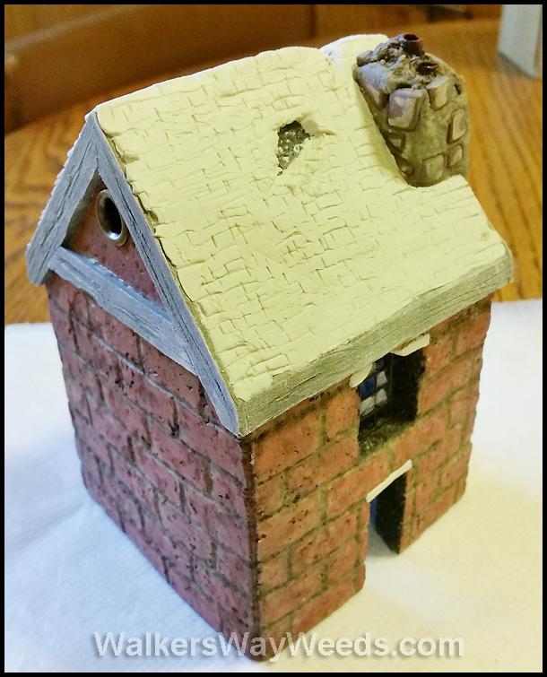 Shingles and chimney top