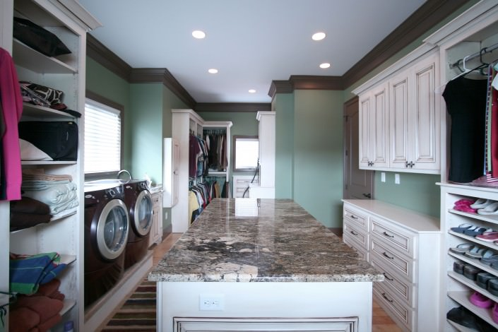 Laundry Room Cabinets By Walker Woodworking