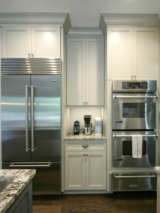 Galley Style Kitchen Island