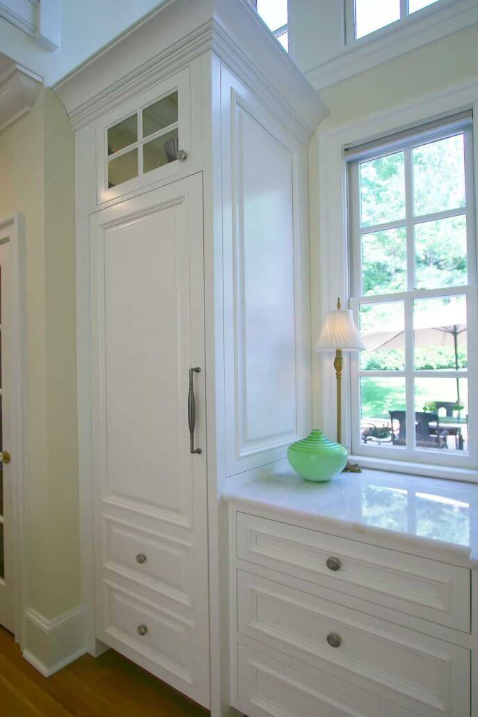 Bright White Cabinets Transitional Style Walker