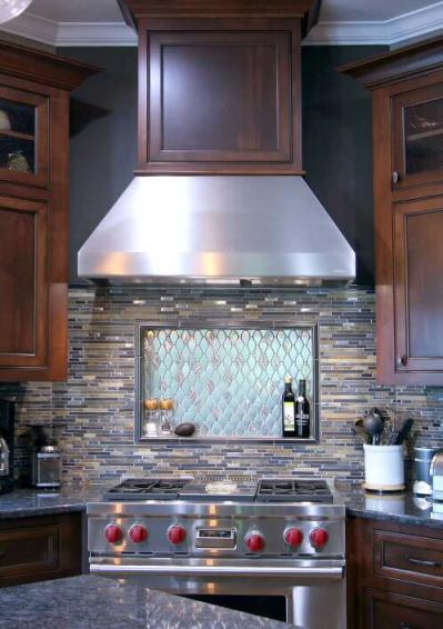 Classic stained cabinets - Transitional Cabinets | Walker ...