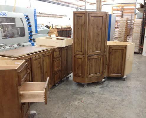 Cabinets Assembled
