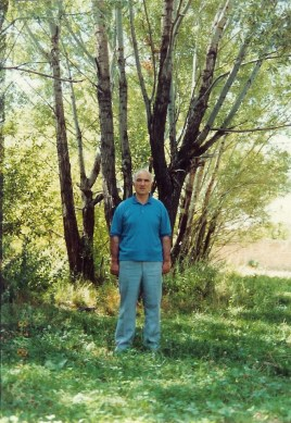 علی حبیبی در طبیعت