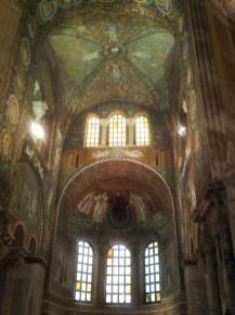 San Vitale, presbiterio e abside, Ravenna