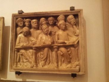 Studenti annoiati, Museo Medievale città di Bologna