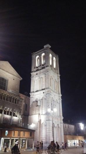 Campanile del Duomo di Ferrara, Leon Battista Alberti
