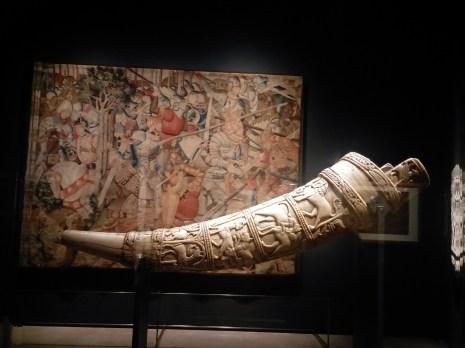 Corno D'Orlando, Tolosa, Musée Paul-Dupuy. Mostra Orlando 500 anni