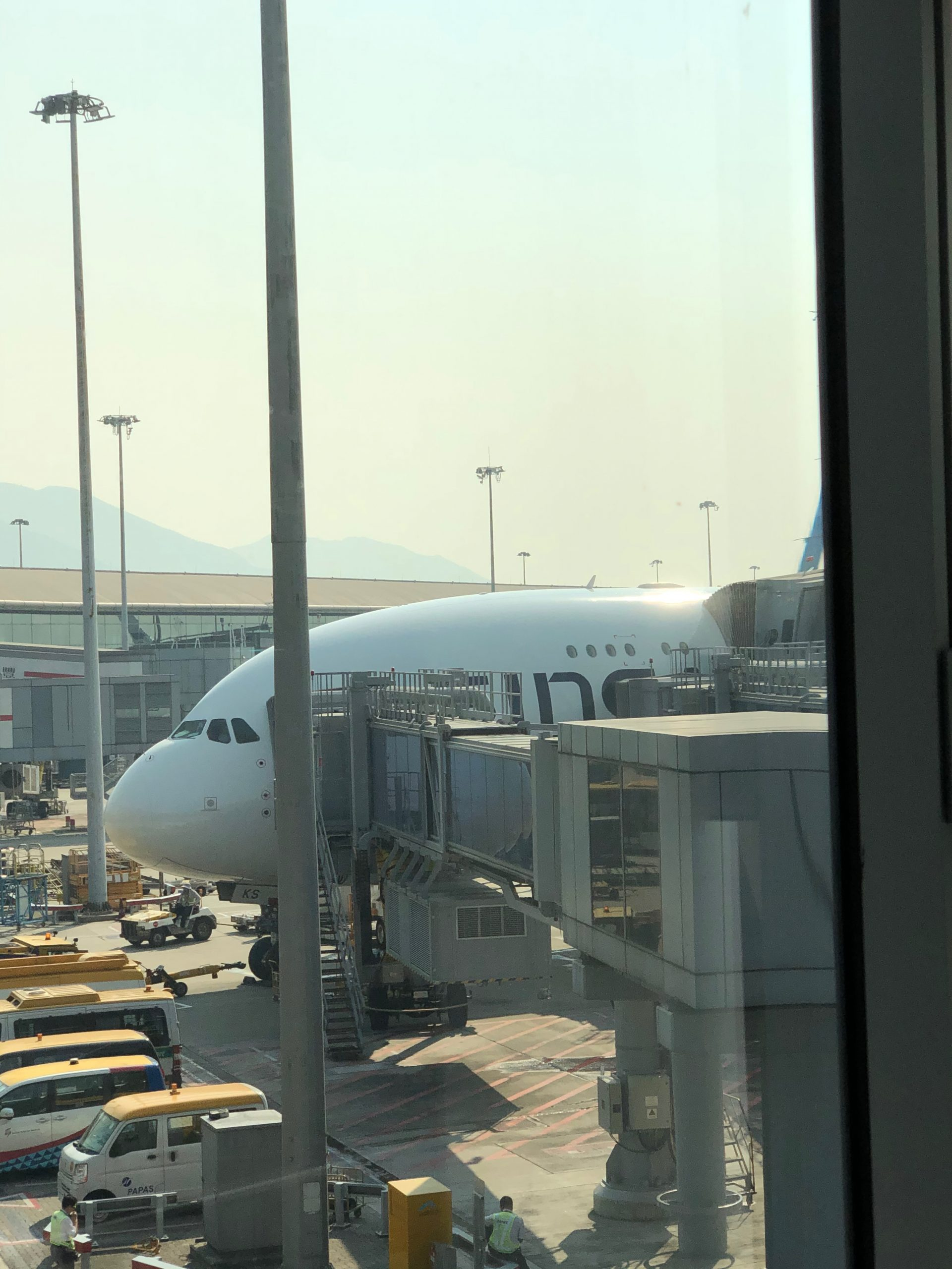 A380 to HKG