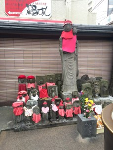 Apart from the main Jizo in the main building, there are many Jizo statues.