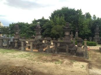 The Grave of Takako, the Wife of the Third Shogun Iemitsu