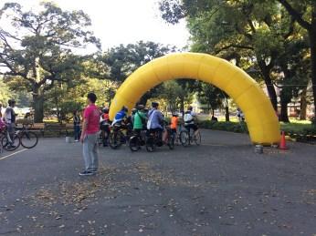 Hibiya Park - Bicycle Ride in Tokyo
