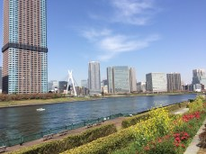 View from Etchujima Park