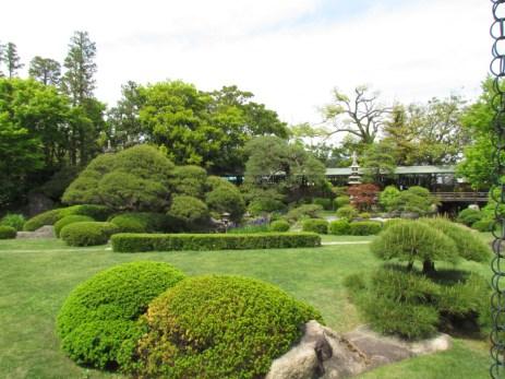The garden of Shibamata Taishakuten Temple