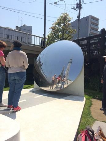 Reflextion Mirror with Tokyo Sky Tree