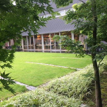 The Restaurant and the Garden