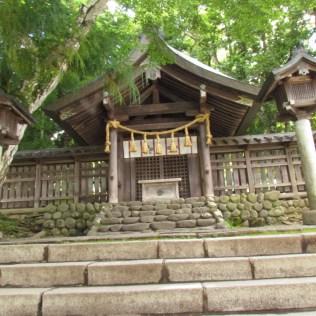 the Place of Worship of Mae-Miya of Suwa Taisha