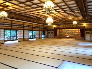 Hall of Hinjitsu-kan Inn