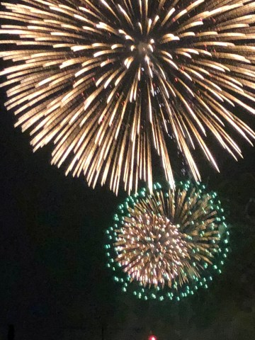 Fireworks in Abiko