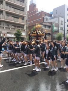 Water-Pouring Festival in Tomioka Hachimangu