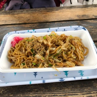 Yakisoba Noodles in Fujinomiya