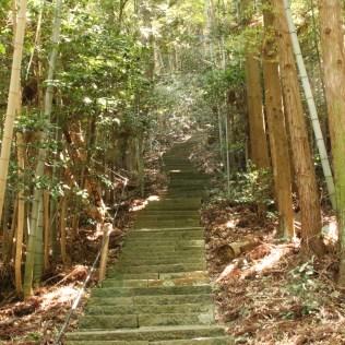 Steps towards Uga Jinja Shrine