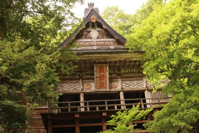 Guze-den Stage of Seisui-ji Temple