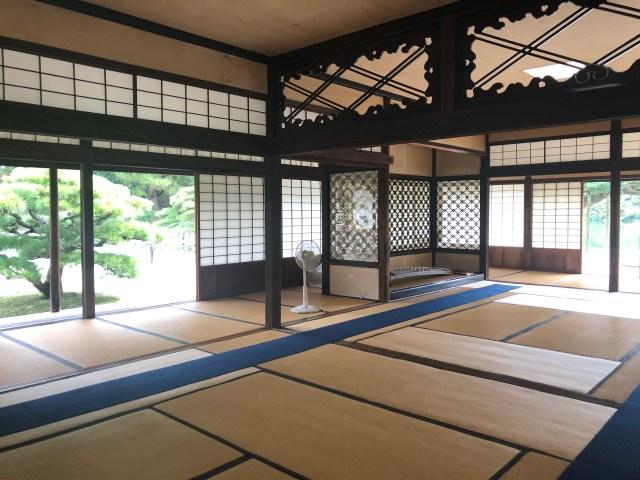 Kikugetsu-tei Tea House in Ritsurin Garden