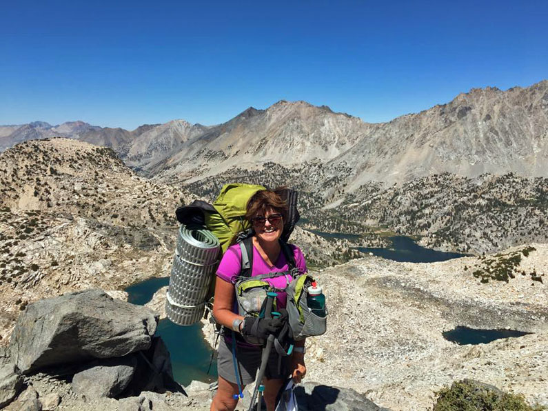 Day 12 on the John Muir Trail