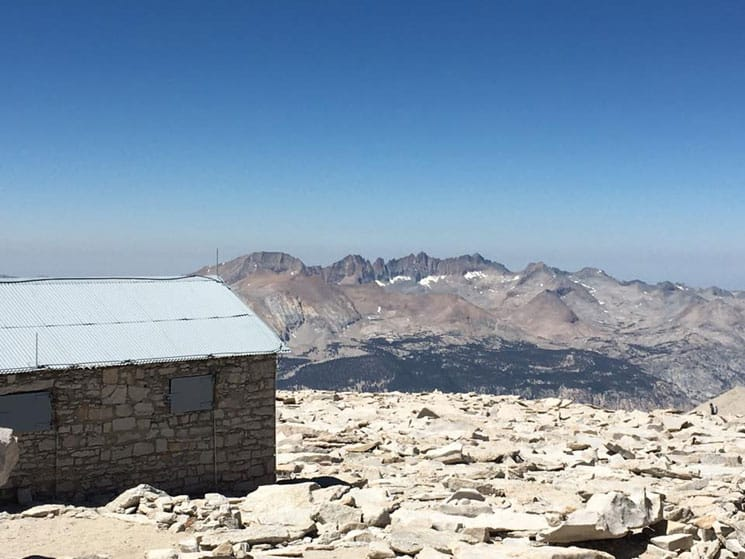 On the Mt Whitney trail, 12 August 2016